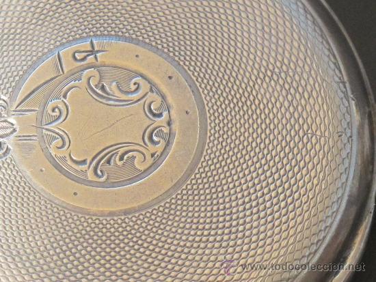Relojes de bolsillo: RELOJ BOLSILLO - PLATA - FUNCIONA PERFECTAMENTE - Foto 5 - 31216169