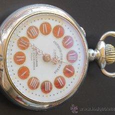 Relojes de bolsillo - PRECIOSO RELOJ BOLSILLO COURVOISIER FRERES PATENT - Importador José Fernández - Vigo - 31217648