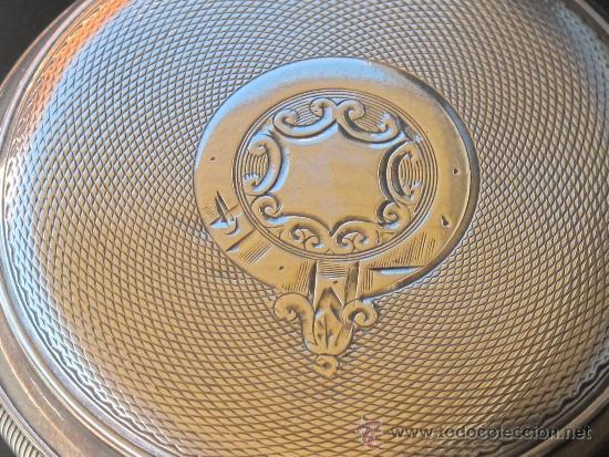 Relojes de bolsillo: MAGNIFICO RELOJ BOLSILLO CAJA PLATA - LLAVE - FUNCIONANDO - Foto 5 - 31238513