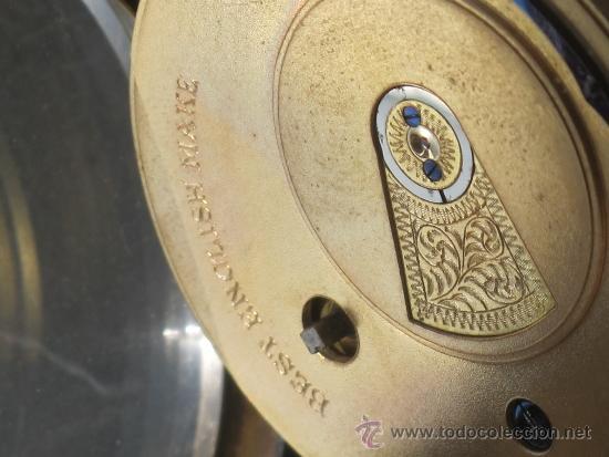 Relojes de bolsillo: MAGNIFICO RELOJ BOLSILLO CAJA PLATA - LLAVE - FUNCIONANDO - Foto 13 - 31238513