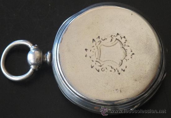 Relojes de bolsillo: ORIGINAL ANTIGUO RELOJ BOLSILLO LLAVE - FUNCIONA PERFECTAMENTE - Foto 4 - 31240251