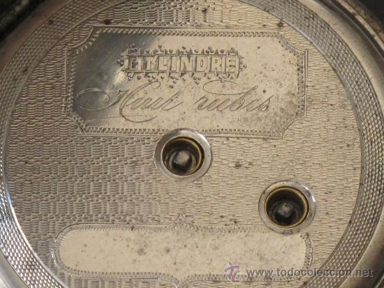 Relojes de bolsillo: ORIGINAL ANTIGUO RELOJ BOLSILLO LLAVE - FUNCIONA PERFECTAMENTE - Foto 6 - 31240251