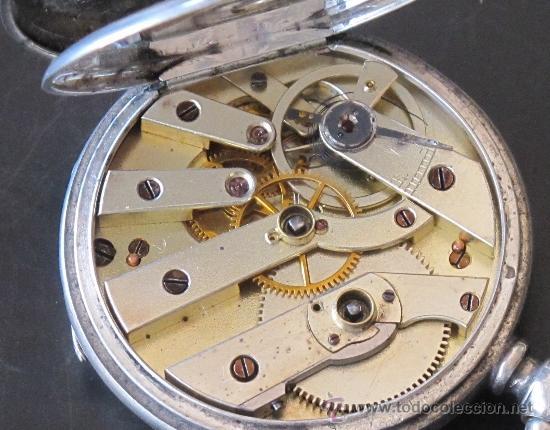Relojes de bolsillo: ORIGINAL ANTIGUO RELOJ BOLSILLO LLAVE - FUNCIONA PERFECTAMENTE - Foto 9 - 31240251