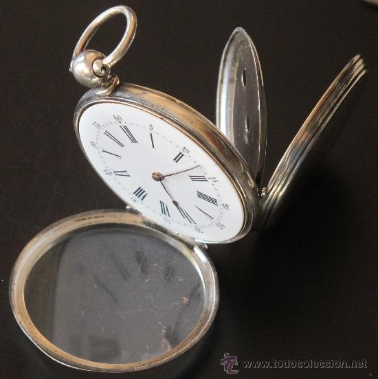 Relojes de bolsillo: ORIGINAL ANTIGUO RELOJ BOLSILLO LLAVE - FUNCIONA PERFECTAMENTE - Foto 11 - 31240251