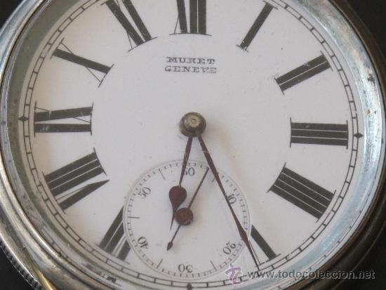 Relojes de bolsillo: RELOJ BOLSILLO - PLATA - FUNCIONA PERFECTAMENTE - LLAVE - Foto 2 - 31240708