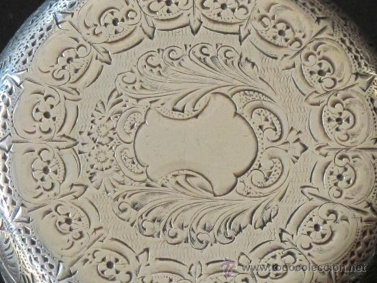 Relojes de bolsillo: RELOJ BOLSILLO - PLATA - LLAVE - FUNCIONA PERFECTAMENTE - Foto 3 - 31241214