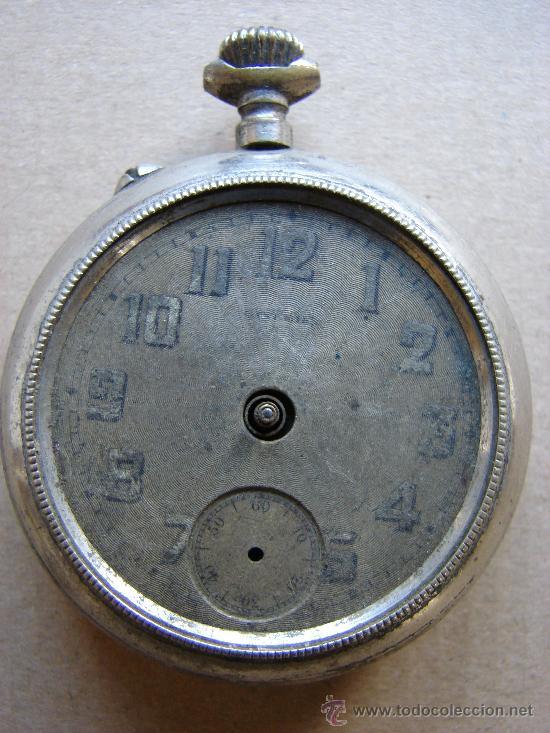 ANTIGUO RELOJ DE BOLSILLO. NO FUNCIONA (Relojes - Bolsillo Carga Manual)
