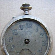 Relojes de bolsillo: ANTIGUO RELOJ DE BOLSILLO. NO FUNCIONA. Lote 58618819