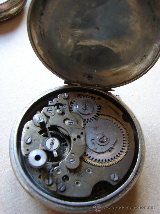 Relojes de bolsillo: ANTIGUO RELOJ DE BOLSILLO. NO FUNCIONA - Foto 2 - 58618819