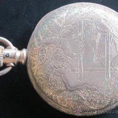 Relojes de bolsillo: RELOJ BOLSILLO HAMILTON WATCH COMPANY LANCASTER PA. - FUNCIONANDO BIEN. Lote 31306278