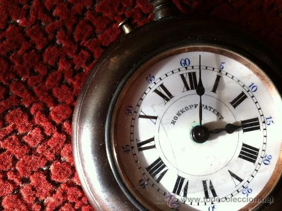 Relojes de bolsillo: RELOJ DE BOLSILLO ROSKOPF. FINALES DEL SIGLO XIX - Foto 4 - 31333773