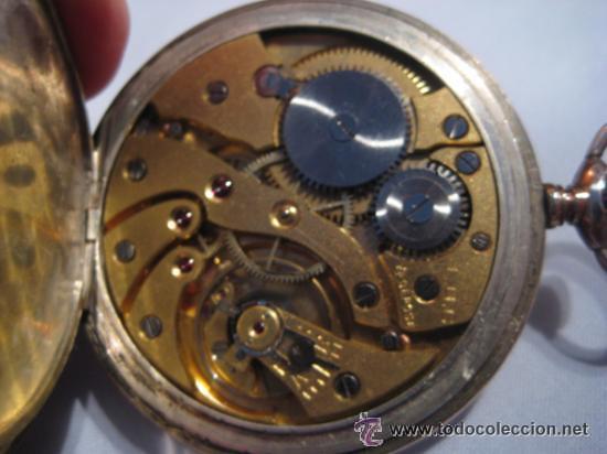 Relojes de bolsillo: Impresionante reloj de bolsillo L.U.C CHOPARD,reloj de lujo,data de 1920,53 mm,funciona correcto - Foto 2 - 31692836