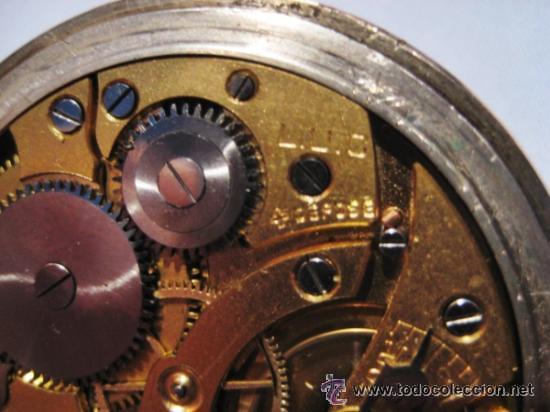 Relojes de bolsillo: Impresionante reloj de bolsillo L.U.C CHOPARD,reloj de lujo,data de 1920,53 mm,funciona correcto - Foto 8 - 31692836