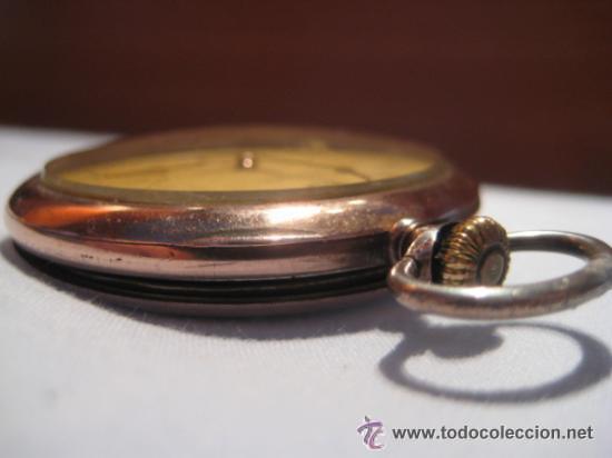 Relojes de bolsillo: Impresionante reloj de bolsillo L.U.C CHOPARD,reloj de lujo,data de 1920,53 mm,funciona correcto - Foto 11 - 31692836