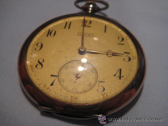 Relojes de bolsillo: Impresionante reloj de bolsillo L.U.C CHOPARD,reloj de lujo,data de 1920,53 mm,funciona correcto - Foto 13 - 31692836