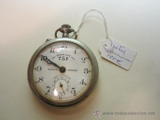 RELOJ DE BOLSILLO ROSKOPF (Relojes - Bolsillo Carga Manual)