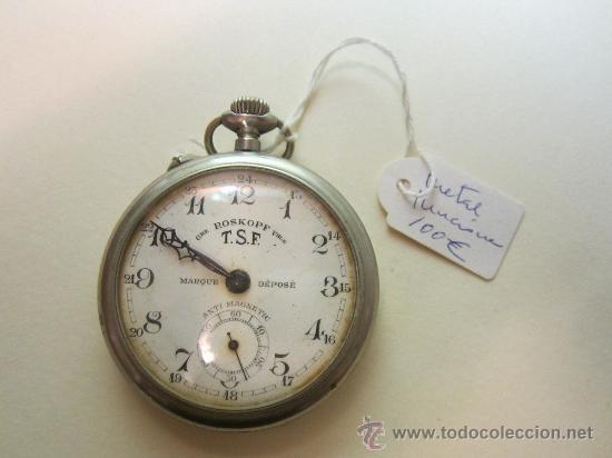 Relojes de bolsillo: RELOJ DE BOLSILLO ROSKOPF - Foto 2 - 31714361