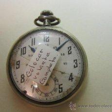 Relojes de bolsillo: RELOJ DE BOLSILLO DEPOSE ARGENTAN. Lote 31715531