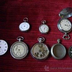 Relojes de bolsillo: LOTE DE RELOJES Y PIEZAS. Lote 31959753