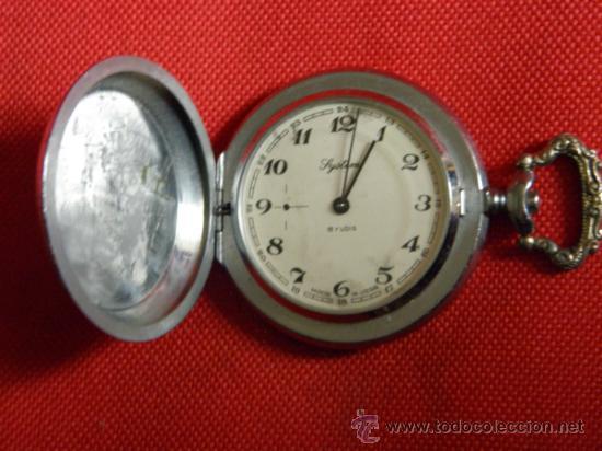 Relojes de bolsillo: LOTE DE RELOJES Y PIEZAS - Foto 13 - 31959753