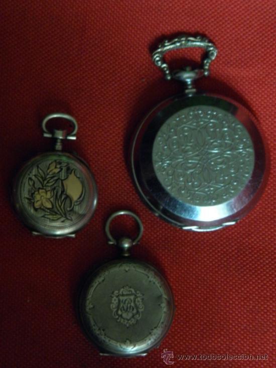 Relojes de bolsillo: LOTE DE RELOJES Y PIEZAS - Foto 3 - 31959753