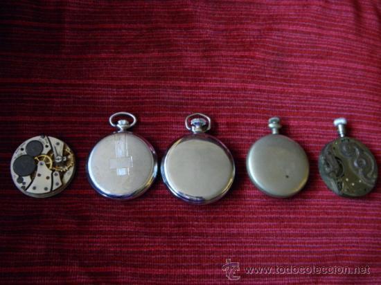 Relojes de bolsillo: LOTE DE RELOJES Y PIEZAS - Foto 4 - 31959753