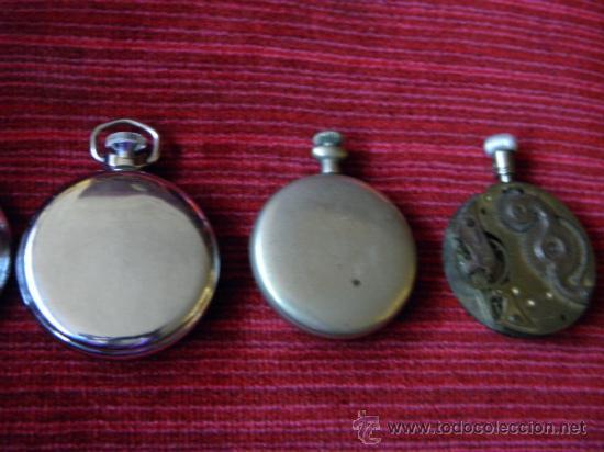 Relojes de bolsillo: LOTE DE RELOJES Y PIEZAS - Foto 5 - 31959753