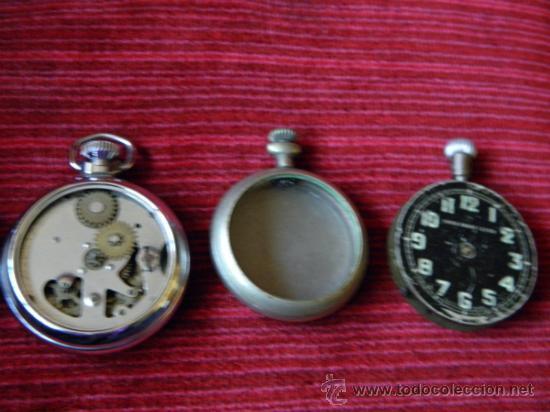 Relojes de bolsillo: LOTE DE RELOJES Y PIEZAS - Foto 6 - 31959753
