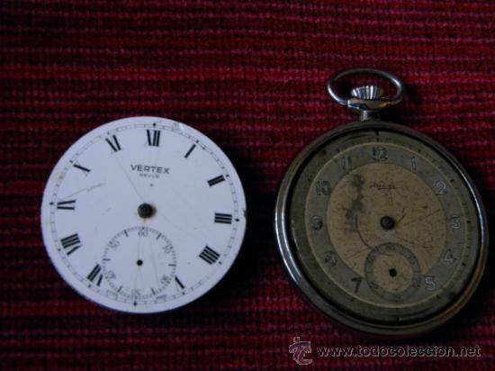 Relojes de bolsillo: LOTE DE RELOJES Y PIEZAS - Foto 8 - 31959753