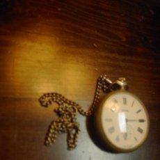 Relojes de bolsillo: RELOJ SOVIETICO, MADE IN USSR, MOLNIJA. Lote 32921779