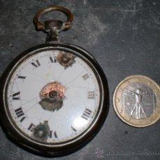 Relojes de bolsillo: RELOJ DE BOLSILLO PLATA DE LLAVE. Lote 33239678