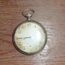 Relojes de bolsillo: ANTIGUO RELOJ DE BOLSILLO EN PLATA 800. . Lote 62971754
