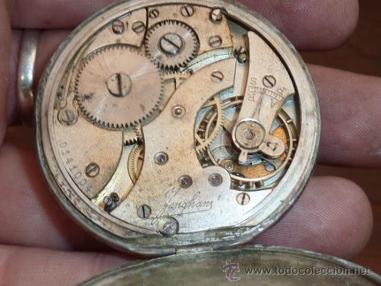 Relojes de bolsillo: Antiguo reloj de bolsillo en plata 800. - Foto 5 - 62971754