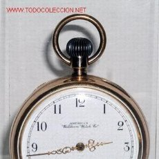 Relojes de bolsillo: RELOJ DE BOLSILLO AMERICAN WALTHAM. Lote 33979958