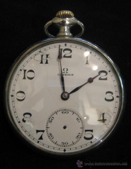 obtener online navegar por las últimas colecciones mejores marcas Reloj de bolsillo omega en plata años 1920 - Vendido en ...