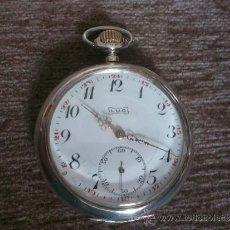 Relojes de bolsillo: IMPRESIONANTE RELOJ DE BOLSILLO L.U.C CHOPARD,RELOJ DE LUJO,DATA DE 1890,55 MM,FUNCIONA CORRECTO. Lote 34658307