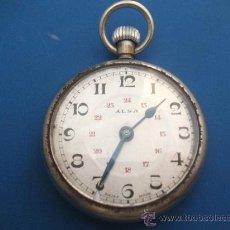 Relojes de bolsillo: RELOJ DE BOLSILLO ALSA - SUIZO - PARA AJUSTAR. Lote 34691482