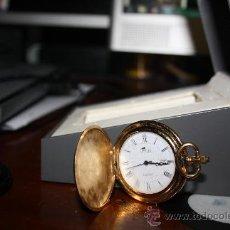 Relojes de bolsillo: RELOJ DE BOLSILLO LOTUS ORO DE 18 KILATES.. Lote 35478357