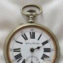 Relojes de bolsillo: GRAN RELOJ DE BOLSILLO ANTIGUO FERROVIARIO GLASHUTTE. Lote 112313764