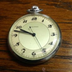 Relojes de bolsillo: RELOJ DE BOLSILLO MOVADO ,SEGUNDERO CENTRAL. Lote 92321283