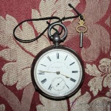 Relojes de bolsillo: RE142 RELOJ THOS RUSSELL AND SON - 93679 - CAJA DE PLATA - ESFERA DE PORCELANA - S-B. Lote 35928290