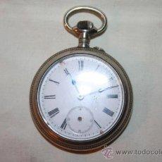 Relojes de bolsillo: RE165 RELOJ CORTEBERT - CAJA DE PLATA - DOS TAPAS - DESCONOCEMOS SI FUNCIONA. Lote 36139807