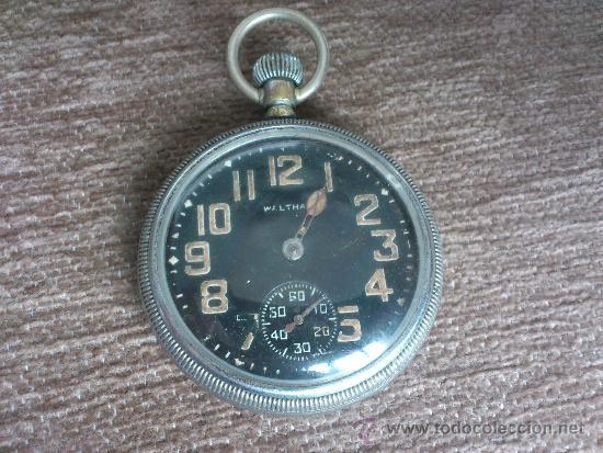 Relojes de bolsillo: WALTHAM MILITAR. DE LA GRAN GUERRA MUNDIAL. - Foto 2 - 36276005