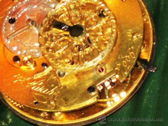 Relojes de bolsillo: PIEZA DE MUSEO RELOJ BOLSILLO ORO Y ESMALTE ROBIN PARIS - Foto 13 - 36803912