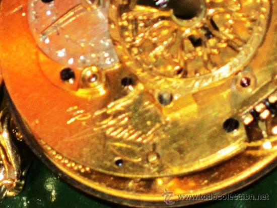 Relojes de bolsillo: PIEZA DE MUSEO RELOJ BOLSILLO ORO Y ESMALTE ROBIN PARIS - Foto 14 - 36803912