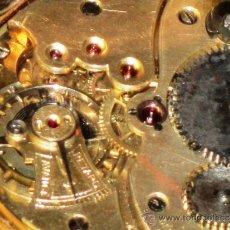 Relojes de bolsillo: SENSACIONAL RELOJ BOLSILLO ORO 14 KTS. Lote 36809561
