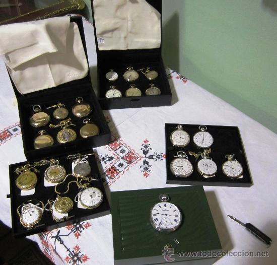 Relojes de bolsillo: SENSACIONAL RELOJ BOLSILLO CRONOMETRO ORO - Foto 2 - 36809627