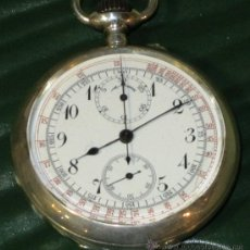 Relojes de bolsillo: PIEZON MUY EXCLUSIVO RELOJ BOLSILLO CRONOMETRO PLATA VACHERON CONSTANTIN. Lote 36809667