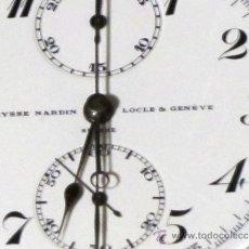 Relojes de bolsillo: PIEZON DE COLECCIONISTA RELOJ BOLSILLO ULYSSE NARDIN CRONO. Lote 36809746