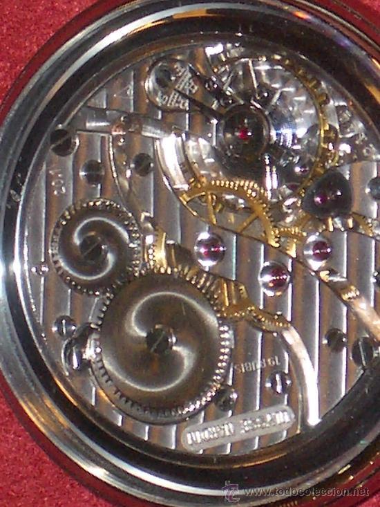 Relojes de bolsillo: PIEZON DE COLECCIONISTA RELOJ BOLSILLO ULYSSE NARDIN - Foto 9 - 36809778